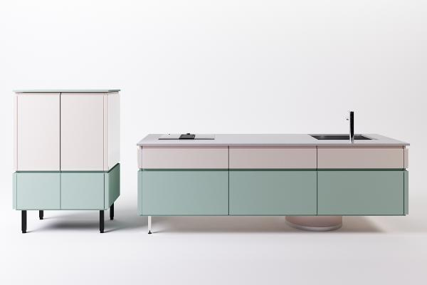 现代橱柜 碗柜 组合橱柜