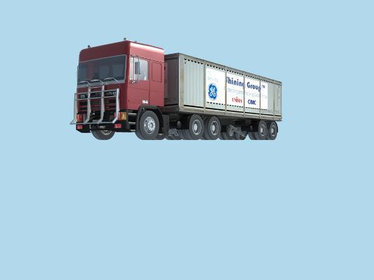 日式大卡车 交通工具