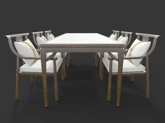 新中式风格餐桌