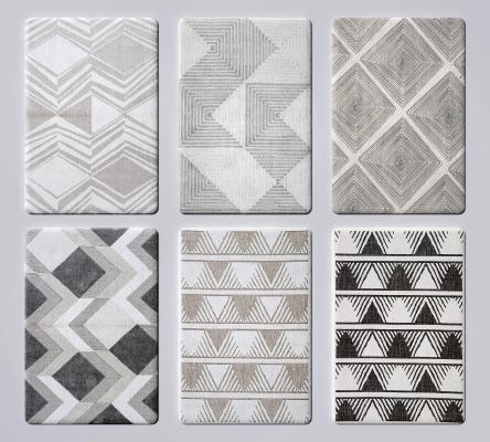 現代地毯 布藝地毯 絨布地毯