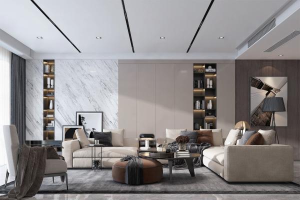 现代家居客厅