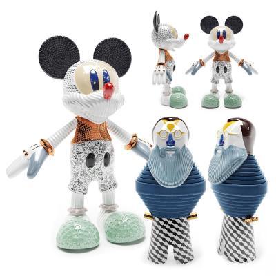 现代个性陶瓷米奇老鼠摆件