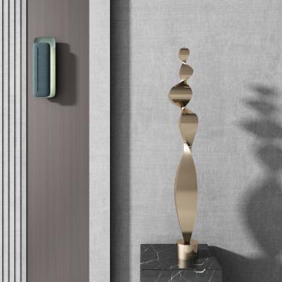 现代抽象雕塑 壁灯组合