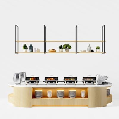 现代调料台 自助餐边柜 餐边柜 乳猪 调料台