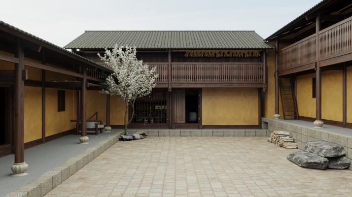 中式三合院