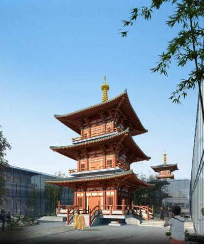 中式古建 寺庙 旅游 博物馆