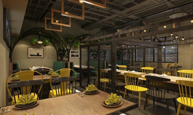 工業風主題餐廳