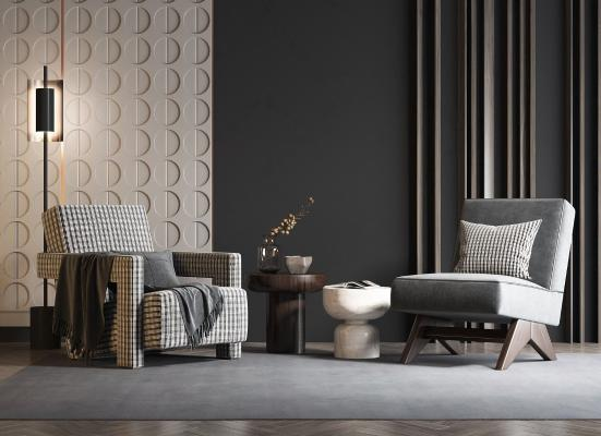 现代单人沙发现代单人沙发