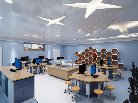 机器人教室 创客教室 教室 学校