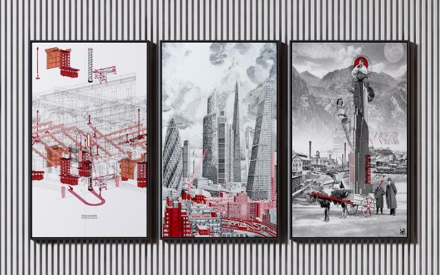 工业风装饰画