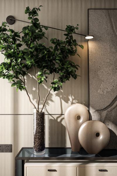 现代盆栽 花瓶