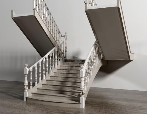 欧式简约楼梯