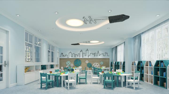 现代幼儿园科学室