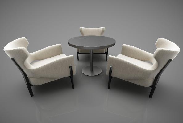 现代风格休闲桌椅