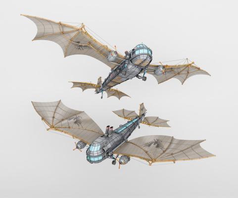现代滑翔翼 滑翔飞机