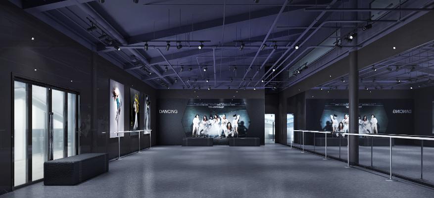 工业风舞蹈工作室