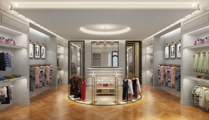 歐式簡約服裝店