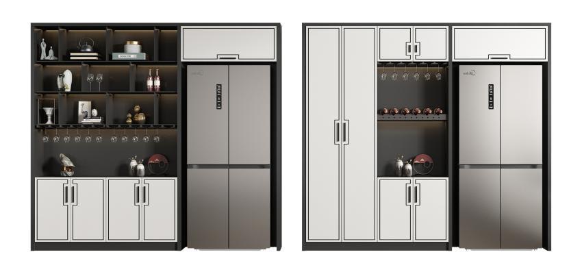 新中式冰箱 酒柜