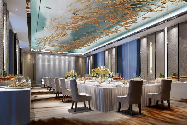 新中式多功能宴会厅餐厅