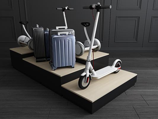 现代小米平衡车 拉杆箱