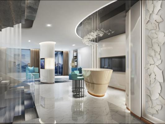 现代会客厅