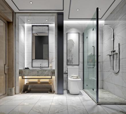 新中式卫生间