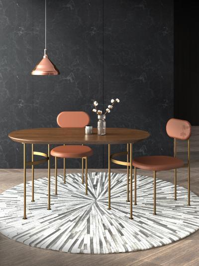 現代風格餐桌椅組合