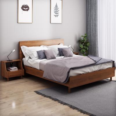北欧风格床 床头柜