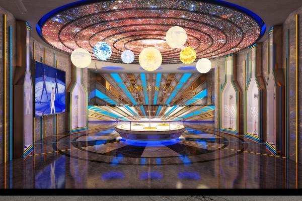 后现代KTV大厅