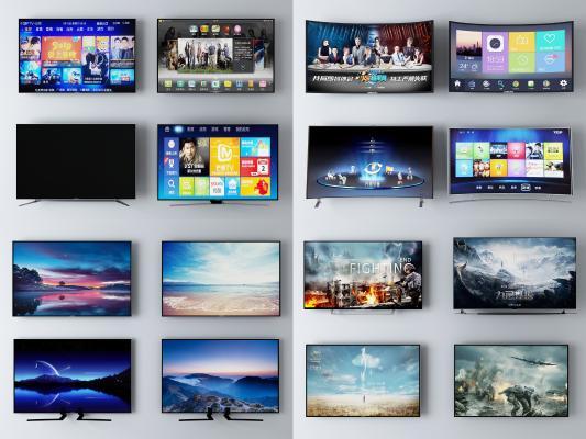 现代电视机 液晶屏 显示器