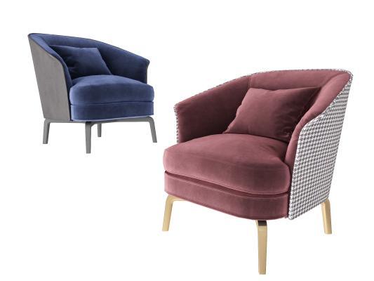 现代简约休闲沙发椅 单人沙发