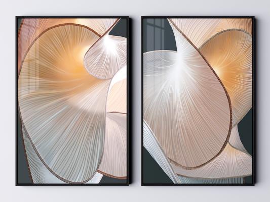 现代装饰画 艺术装饰画 抽象画