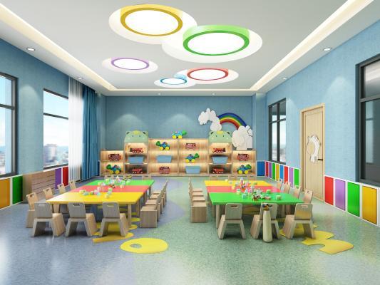现代风格教室
