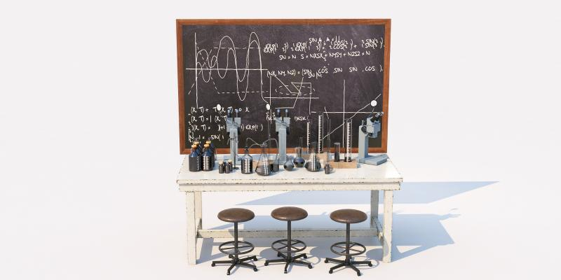 现代化学实验桌 化学用具