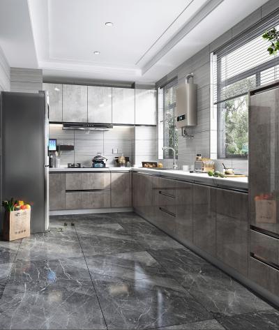 现代风格厨房 橱柜 厨房电器 冰箱