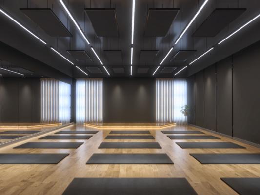 现代瑜伽教室