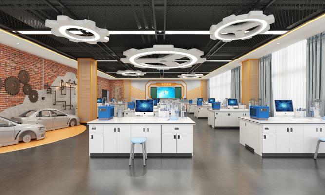 工业风电焊模拟教室