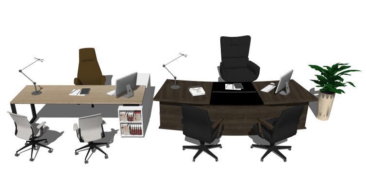 现代办公桌办公椅