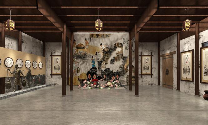 中式民俗展厅