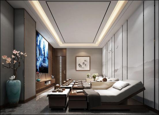 新中式SPA房间