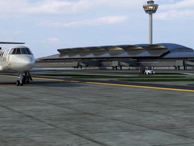 现代机场 飞机场