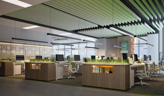 现代开放办公区