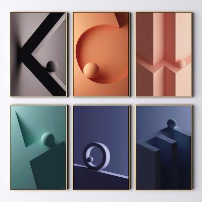现代装饰画 抽象装饰画 艺术画