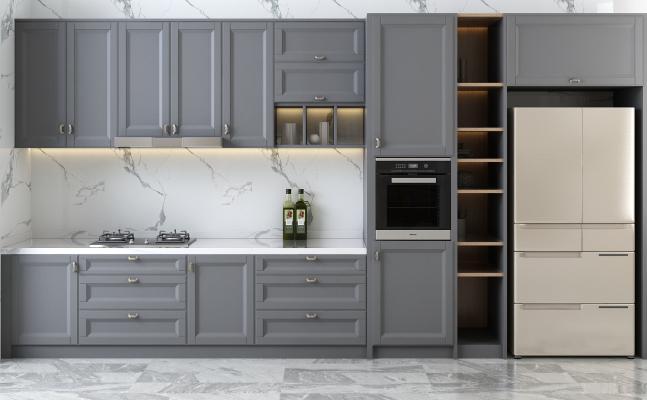 現代櫥櫃组合 冰箱
