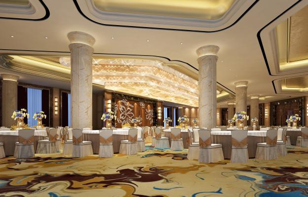 现代宴会厅