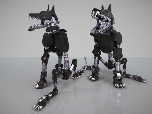 现代机械狼