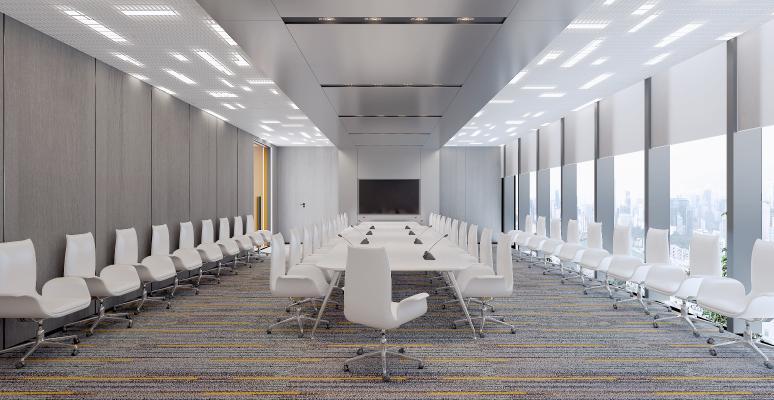 现代办公室 会议室