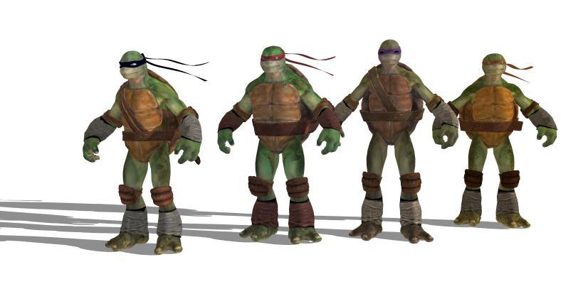 玩具 忍者神龟