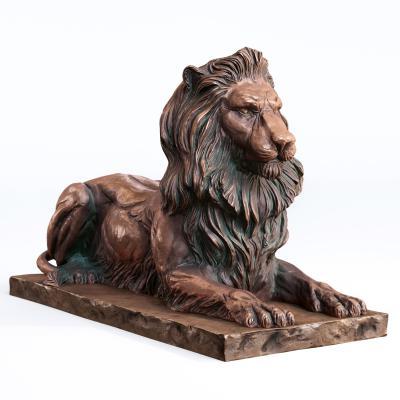 新中式狮子雕塑