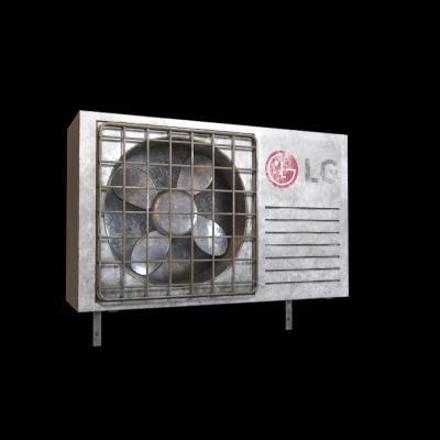 现代空调室外机